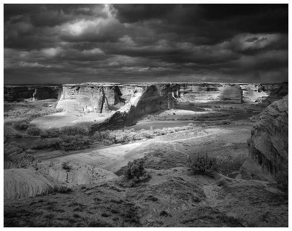 Approaching Storm, Canyon de Chelly
